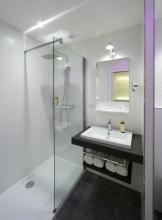 salle d'eau DURAVIT appartement-hôtel Aubusson