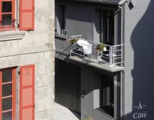 mini-terrasse appartement Les Maisons du Pont