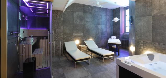 Spa privatif avec sauna, hammam, Jacuzzi - Aubusson